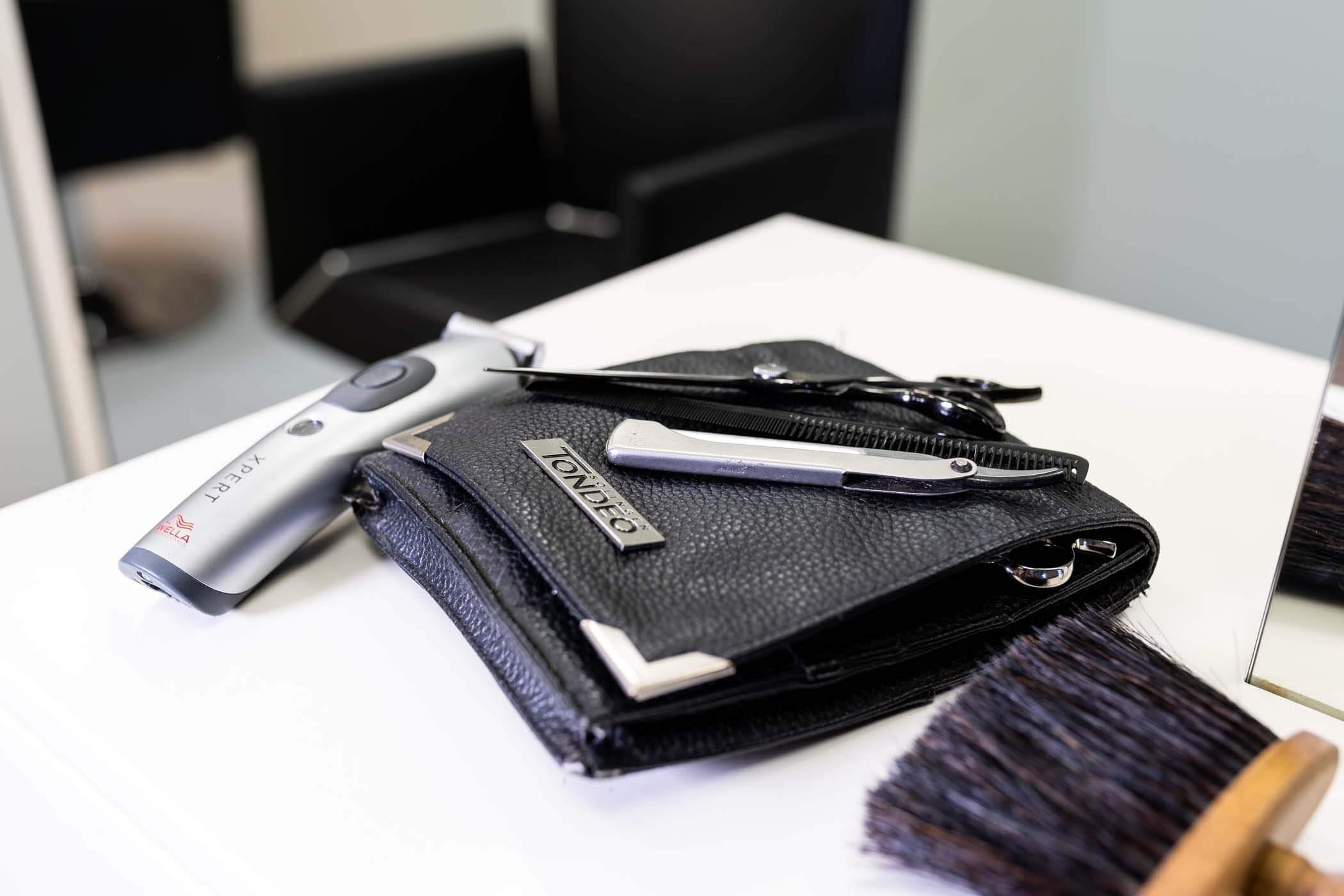 Friseur Werkzeuge